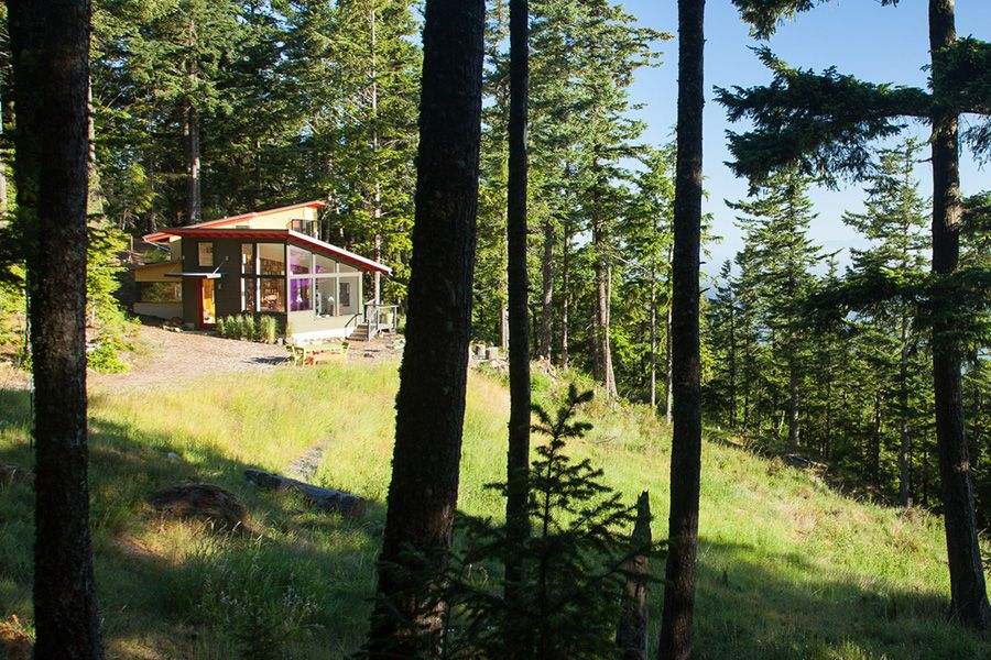 Residential Architecture for Stoltz:Kau Architects, San Juan Islands, WA