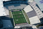 Seattle - Aerial photo of Husky Stadium Renovation for University of Washington, Seattle, WA