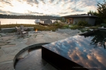 Seattle - Waterfront residential landscape design photography near Seattle, for Paul Broadhurst & Assoc. Landscape Design