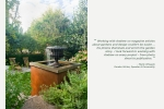 Seattle - Residential garden design photography for book cover, Seattle