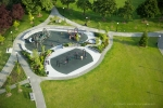 Seattle - Seattle public park playground aerial photo for The Berger Partnership landscape architecture