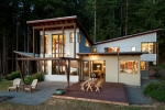 Seattle - Residential architectural photography on Orcas Island, San Juan Islands, for StoltzKau Architects