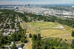 Seattle - Seattle aerial photography of Westcrest Park and downtown Seattle