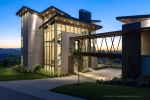 Seattle - Dusk exterior architectural photography in Issaquah Highlands for McCullough Architects
