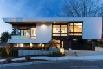 Seattle - Dusk exterior architectural photography in Kirkland, WA for McCullough Architects