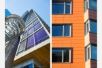 Seattle - Exterior photography of high rise luxury apartment tower for Andersen Construction